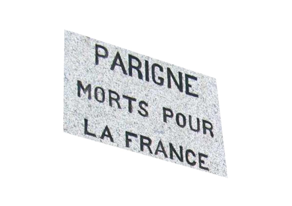 TABLEAU des Hommes MORTS pour la France